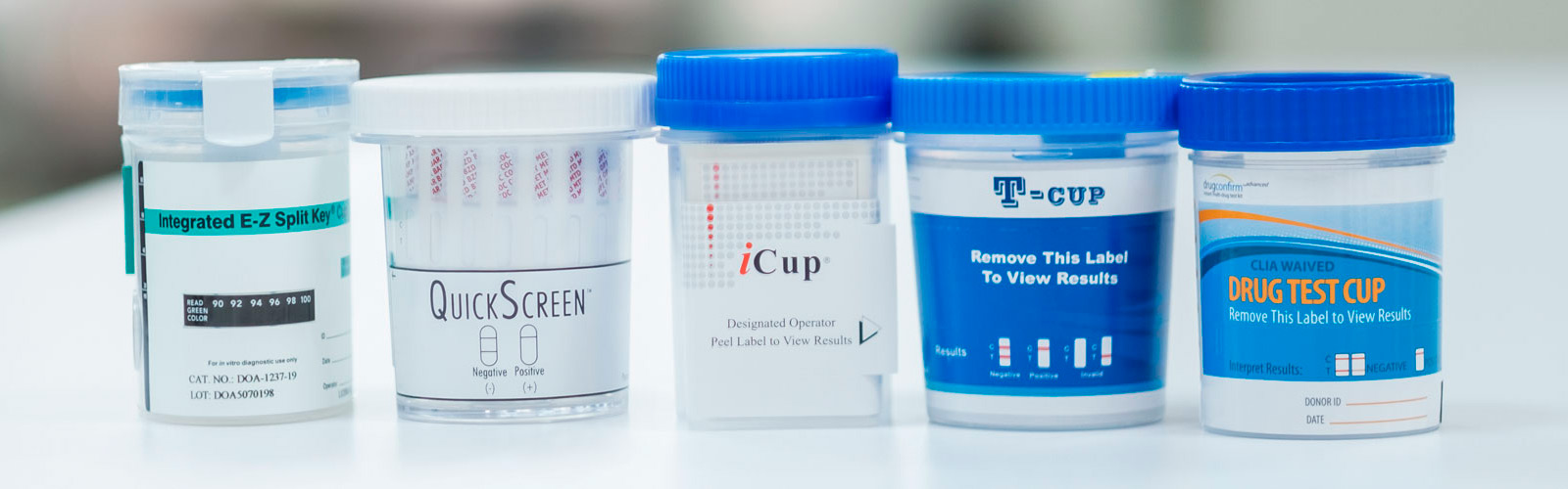 Urine Drug Test Cups
